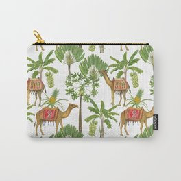 Camels and palms Carry-All Pouch