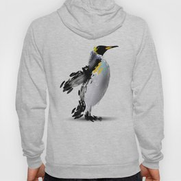 Abstract illustration of a penguin Hoody