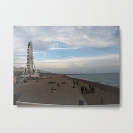 Brighton Metal Print