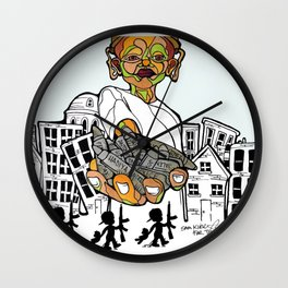 Lost Childhoods Wall Clock