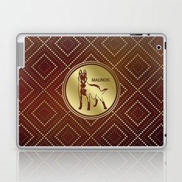 Golden Belgian Malinois - Mechelaar  - Maligator Laptop & iPad Skin