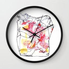 Wong's Wok Wall Clock