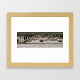 Bridges on Bridges Framed Art Print