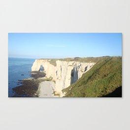 Cliffs of Normandy Canvas Print