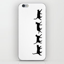 Kitty Conga Line iPhone Skin