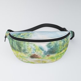 Spring in Giverny Monet Claude Fanny Pack