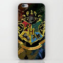 Hogwarts Logo Houses iPhone Skin
