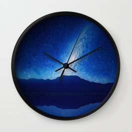 When The World Falls Down Wall Clock