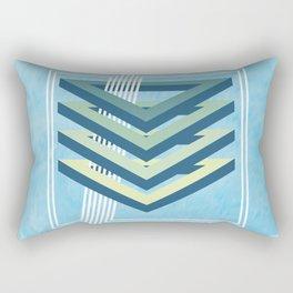 Four Triangles Rectangular Pillow