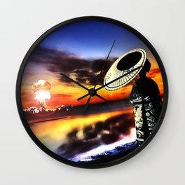 The Rising Sun Wall Clock