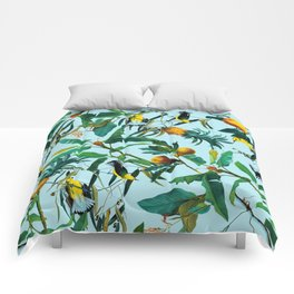 Fruit and Birds Pattern Comforters