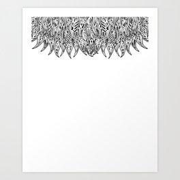 Pysch Fringe Art Print