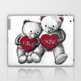 Bear: Valentine's Day Laptop & iPad Skin