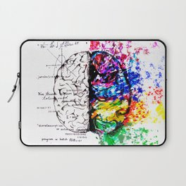Conjoined Dichotomy Laptop Sleeve