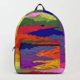 Rainbow Ripples Backpack