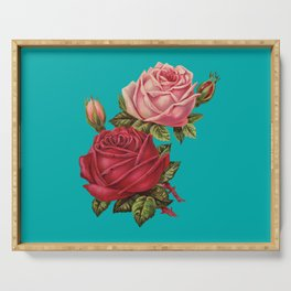 Floral Pop Serving Tray