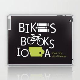 Bikes Books Iowa Laptop & iPad Skin