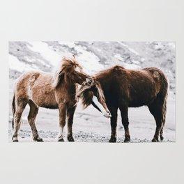 Wild Horses III / Iceland Rug
