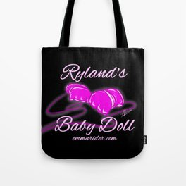 Ryland's Baby Doll Gloves Logo Tote Bag