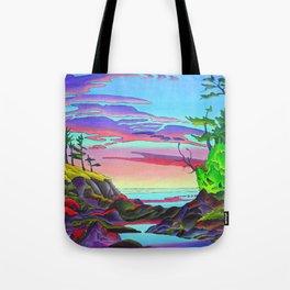 Pacific Pacific by Amanda Martinson Tote Bag