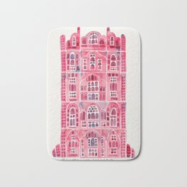 Hawa Mahal – Pink Palace of Jaipur, India Bath Mat