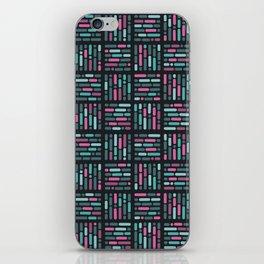 geometric colorful3 iPhone Skin