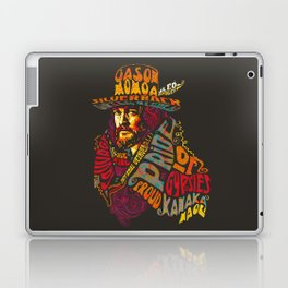 Psychedelic Jason Momoa - Bold as Love Laptop & iPad Skin