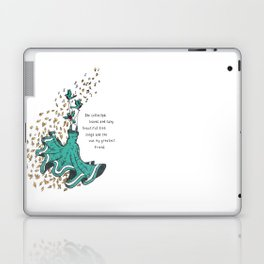 Imaginary Friends Are The Best Friends Laptop & iPad Skin