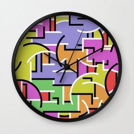 Segregation Of Colour Wall Clock