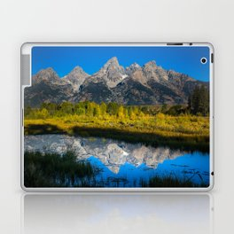 Grand Teton - Reflection at Schwabacher's Landing Laptop & iPad Skin