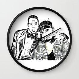 Jay & Ye Wall Clock