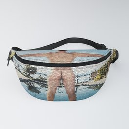 Summer Freedom Tiled Fanny Pack