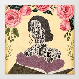 Clockwork Angel - Tessa Gray Canvas Print