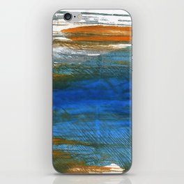 Abstract watercolor iPhone Skin