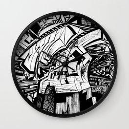 Mighty Morphin' Monolith  Wall Clock