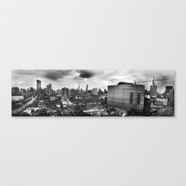 Growing City Canvas Print
