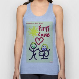 THE RELATIONSHIP,  A LOVE STORY Unisex Tank Top