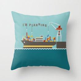 Planner Throw Pillow
