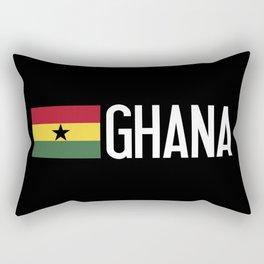 Ghana: Ghanaian Flag & Ghana Rectangular Pillow