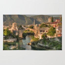 The Old Bridge of Mostar Rug
