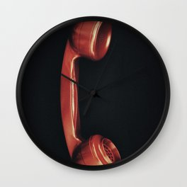 Vintage Telephone Receiver Wall Clock