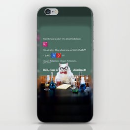 Chemistry Cat iPhone Skin