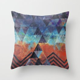 Astral-Projectionist Throw Pillow