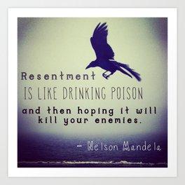 Resentment Art Print