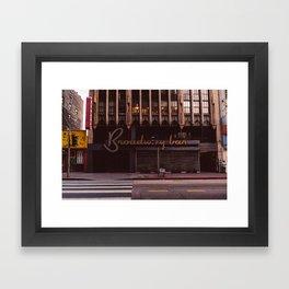 Downtown Los Angeles II Framed Art Print