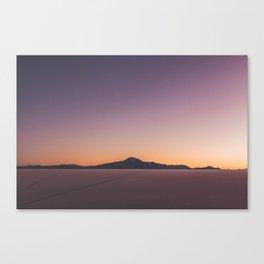 Sunrise over Salar De Uyuni Canvas Print