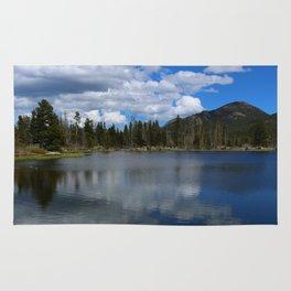 Sprague Lake Reflection Rug