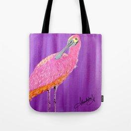 Spoonbill bird Tote Bag
