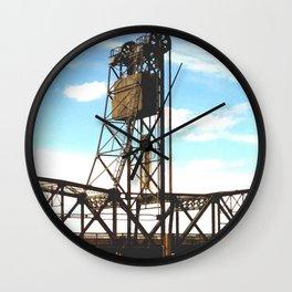 Stillwater Draw Bridge Wall Clock