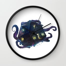 Octopus' House Wall Clock